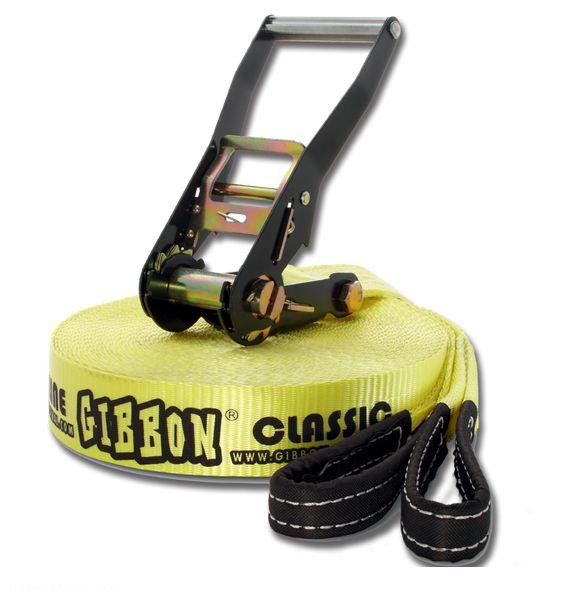 Gibbon Classic X 13 - 15m (Slackline set )