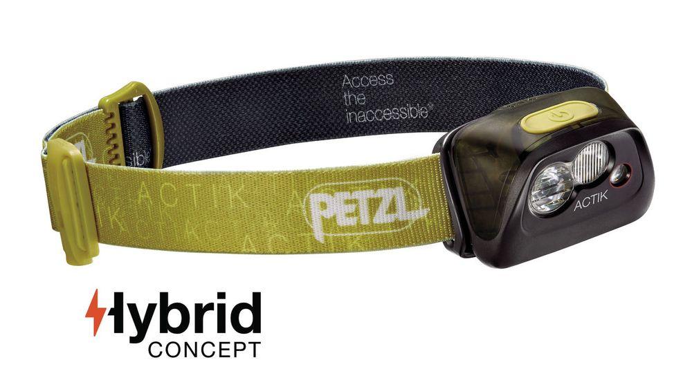 Petzl ACTIK - GREEN (Čelová svítilna)