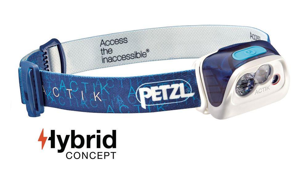 Petzl ACTIK - BLUE (Čelová svítilna)
